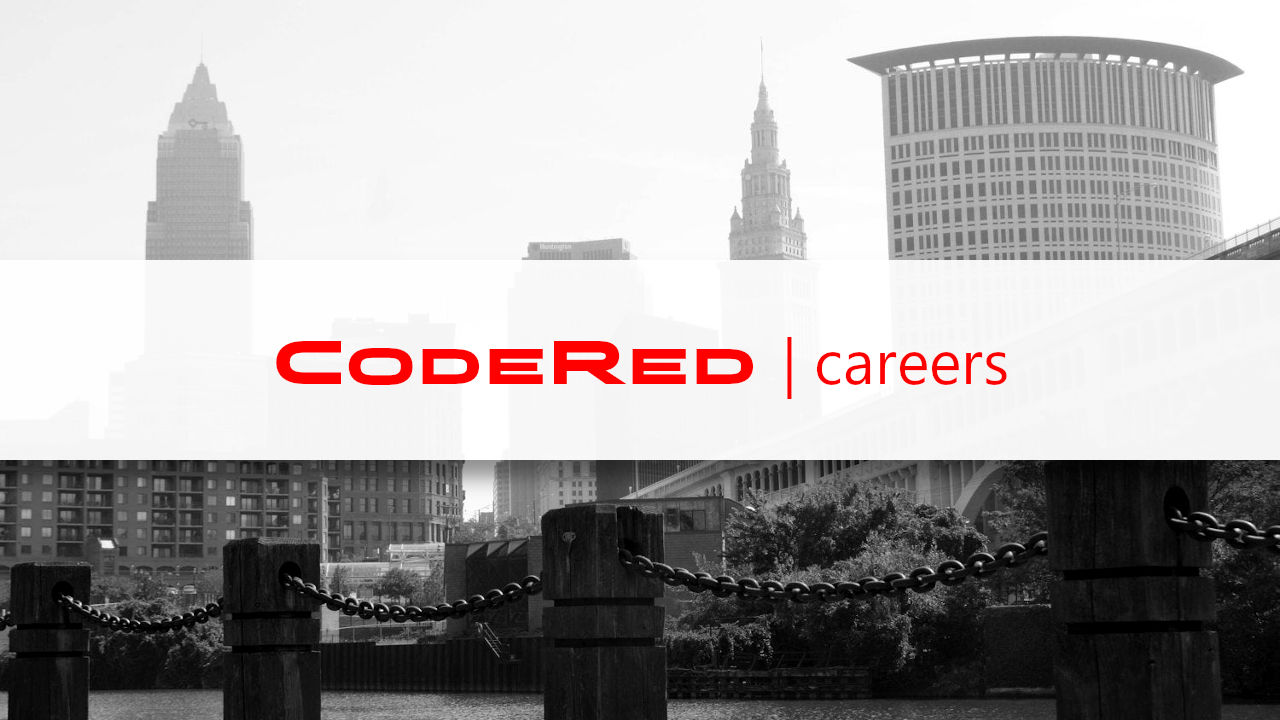 CodeRed. Calling Cleveland's best and brightest.