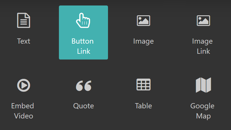 Image of theme settings